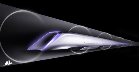 Elon Musk reveals designs for supersonic Hyperloop transport system