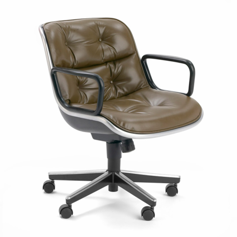 Inspirational Executive Office Chair by Charles Pollock for Knoll