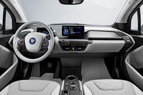 i3 electric car by BMW