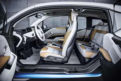 i3 electric car by BMW