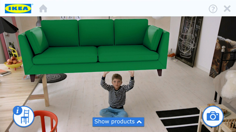 Ikea 2014 catalogue augmented reality