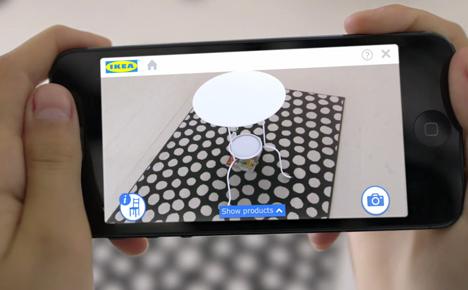 Ikea 2014 catalogue augmented reality