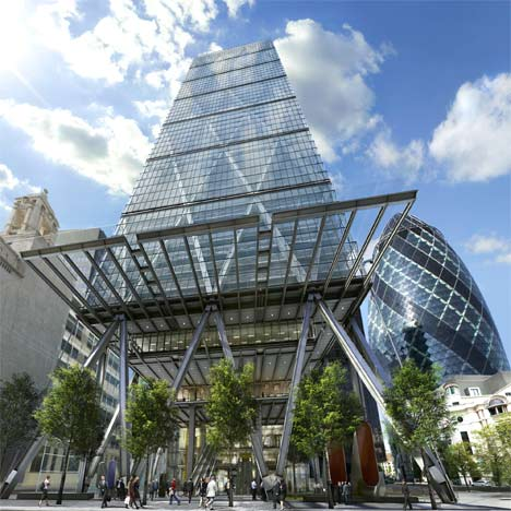 """""""Office buildings tend to be very boring"""" - Richard Rogers"""