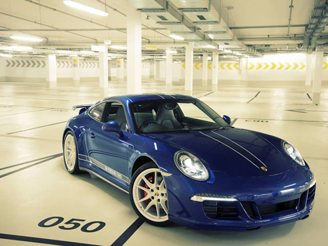 Porsche 911 designed by Facebook Fans