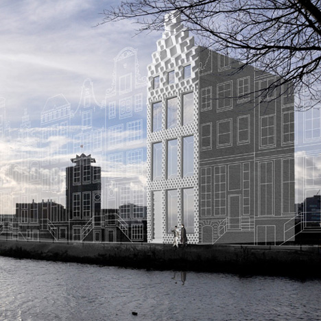 3D-printed canal house by DUS Architects