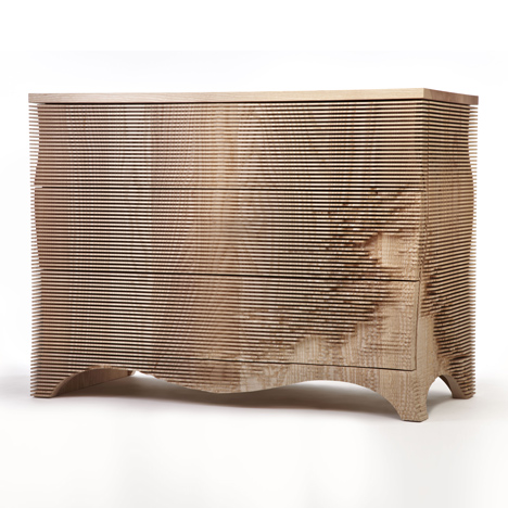George chest of drawers by Gareth Neal