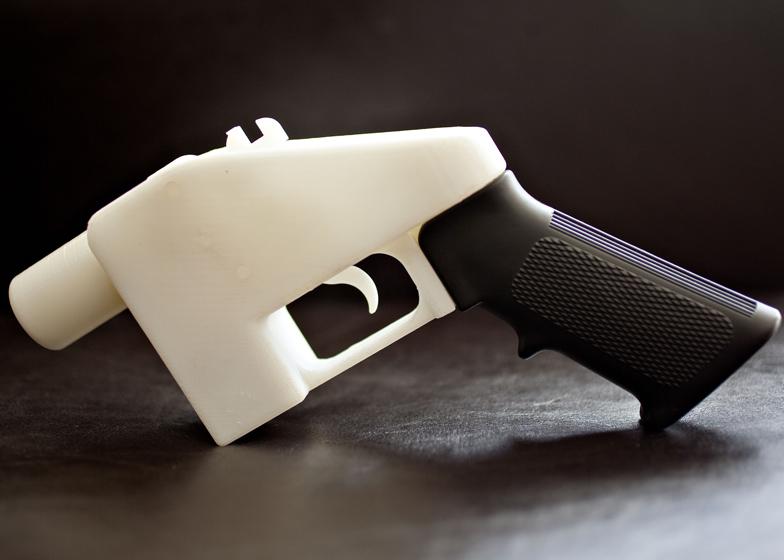 Liberator 3D-printed gun by Cody Wilson
