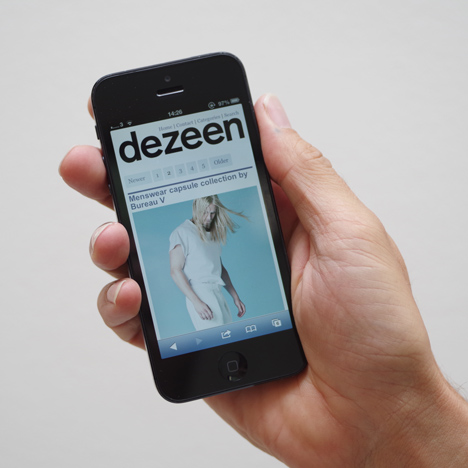 Dezeen's responsive site is live!