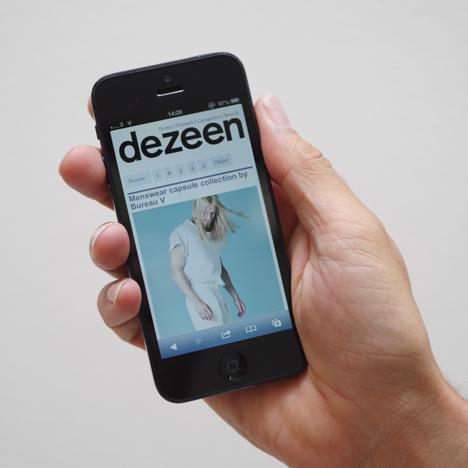 Dezeen's new responsive site