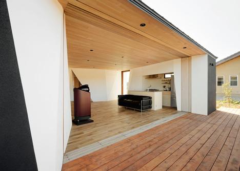 Kiritoshi House by Sugawaradaisuke