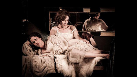 Alanis Morissette and Orla Brady in The Price of Desire