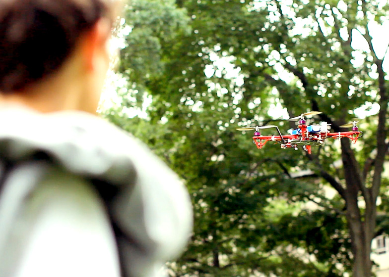Skycall drone by MIT