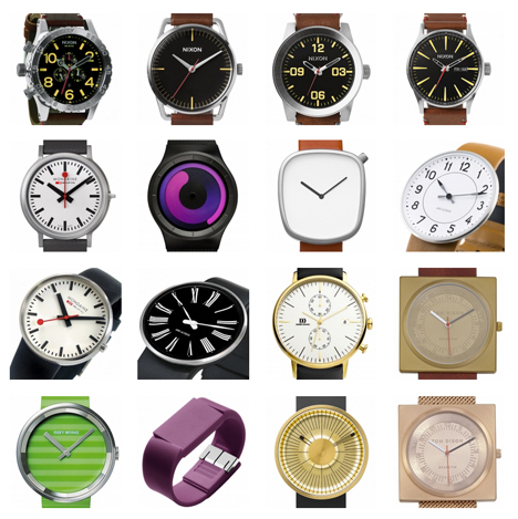 Dezeen Watch Store relaunches