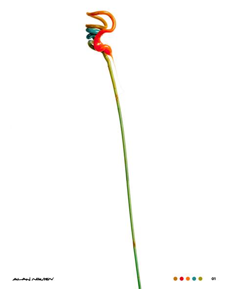 Filament. 01-04 3D printing macro photos by Alan Nguyen