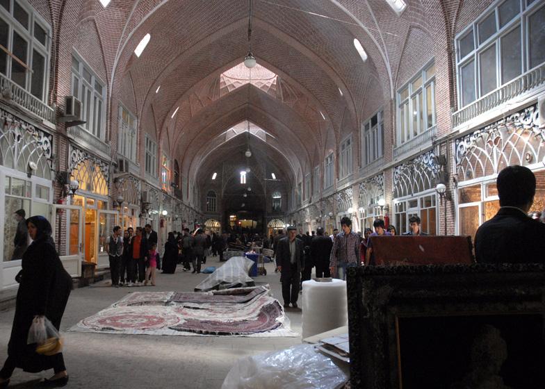 Rehabilitation of Tabriz Bazaar