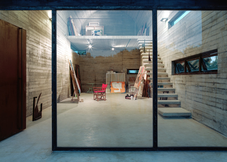 Art Warehouse in Boeotia by A31 Architecture