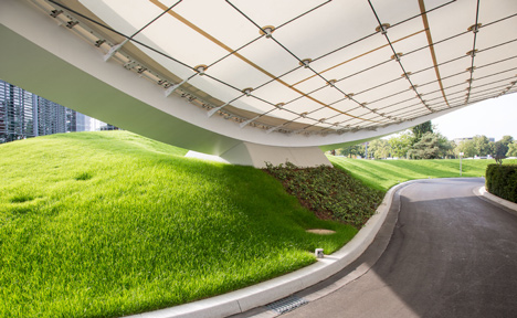 Autostadt Roof and Service Pavilion by Graft Gesellschaft von Architekten