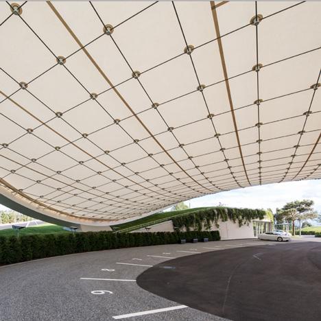 Autostadt Roof and Service Pavilion by Graft Gesellschaft von Architekten