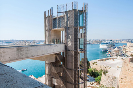 Barrakka Lift by Architecture Project