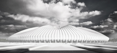 Brasilia Athletics Stadium by Weston Williamson
