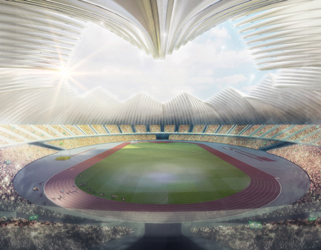 Brasilia Athletics Stadium by Weston Williamson