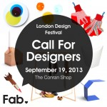 Call for designers to enter Fab's Disrupting Design competition in London