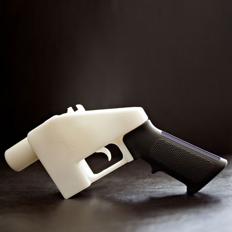 3D-printed gun at the V&A museum