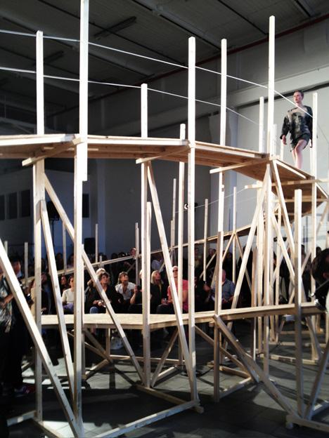 Catwalk for Up by Gartnerfuglen Architects