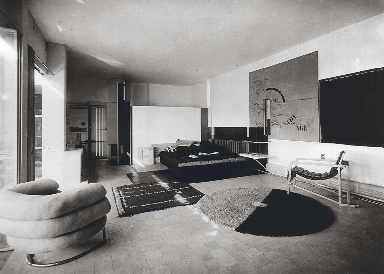 Eileen Gray E1027 house interior