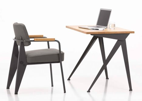 Competition: one Fauteuil Direction chair by Jean Prouvé to be won