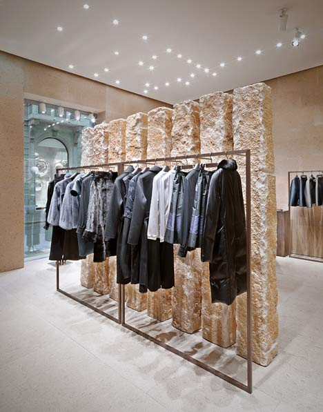 giada milan fashion boutique interior design by claudio silvestrin rh dezeen com interior design for boutique interior design for boutique