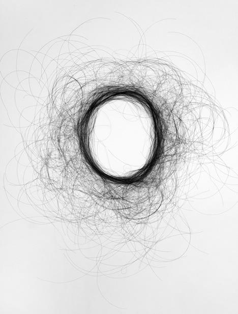 Hair Typography by Monique Goossens