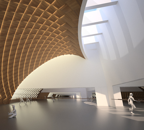 Cultural Centre by MAD