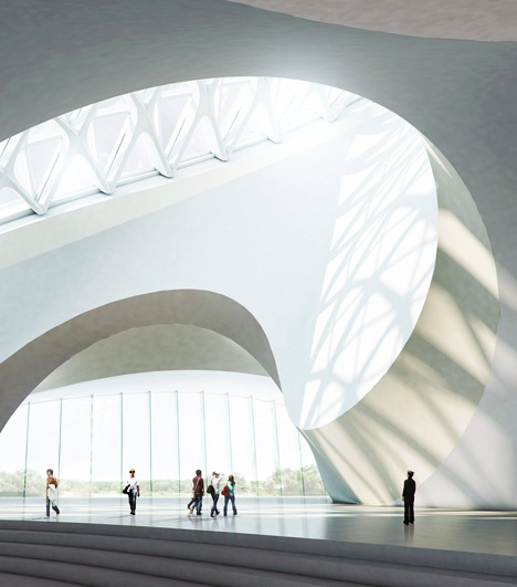 Harbin Cultural Centre by MAD