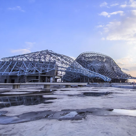 Harbin Cultural Center by MAD