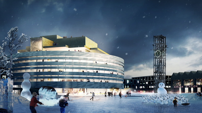 Henning Larsen Architects to design town hall for a relocated city