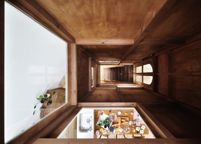 House In Chiharada Shpaed Like A Fairytale Tower By Studio Velocity