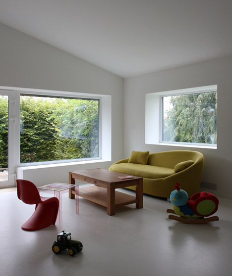 House renovation in Saignelégier by Dubail Begert Architectes