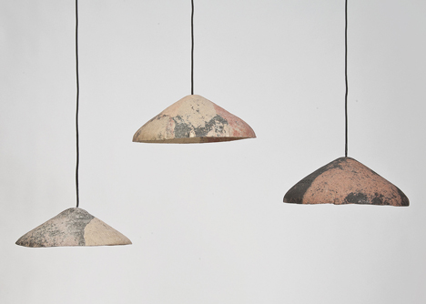 Impasto pendants by Nikolaj Steenfatt
