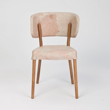 Impasto chair by Nikolaj Steenfatt