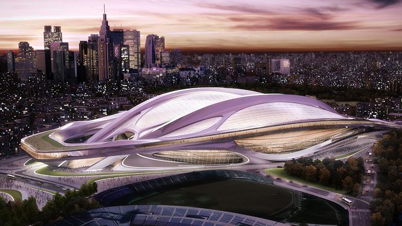 Tokyo 2020 Olympics to centre around Zaha Hadid stadium