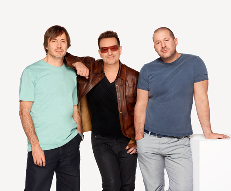 Jonathan Ive, Marc Newson and Bono curate charity auction