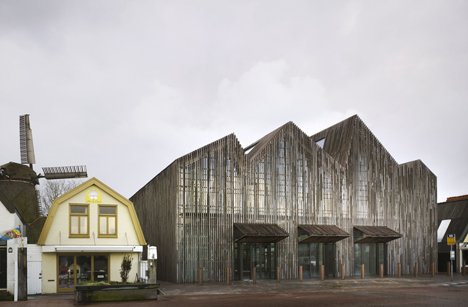 Kaap Skil Maritime and Beachcombers Museum by Mecanoo