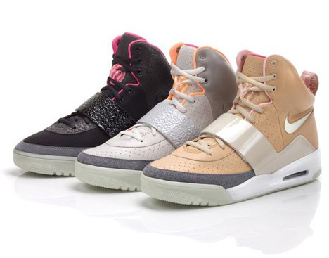Air Yeezy trainers by Kanye West for Nike