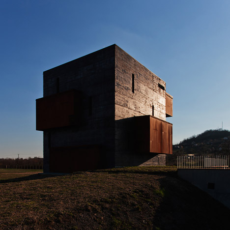 Kemenes Volcanopark Visitor Centre by Foldes Architects