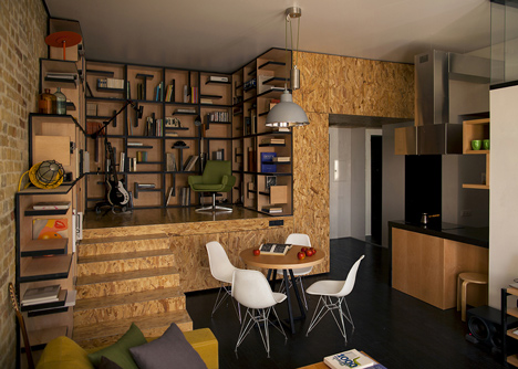 Loft apartment by Alex Bykov