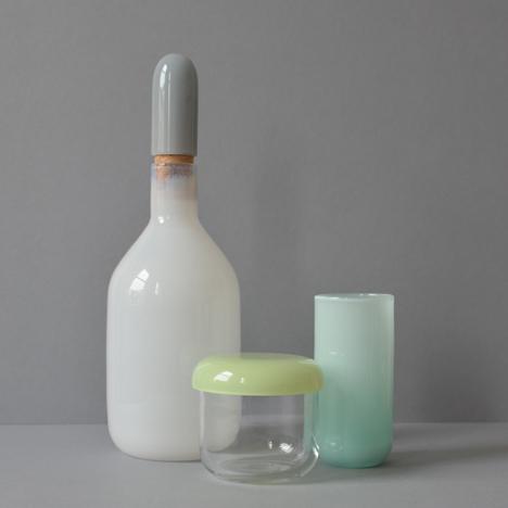 Louche glassware by Mathias Hahn