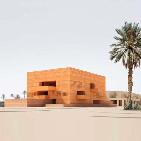 Marrakech Museum for Photography and Visual Art by David Chipperfield Architects