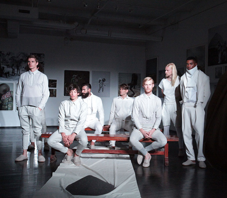 Menswear capsule collection by Bureau V