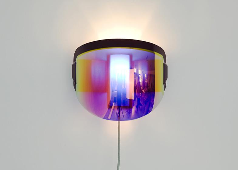Moto lamp by Jean-Baptiste Fastrez
